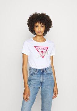 Guess - ICON  - Print T-shirt - true white