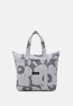 Marimekko - UUSI MINI MATKURI PIENI UNIKKO BAG - Shoppingväska - grey/light grey