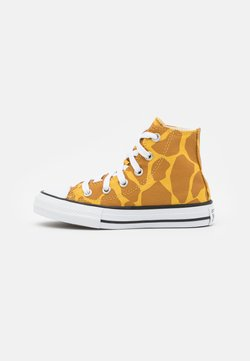 Converse - CHUCK TAYLOR ALL STAR UNISEX - Sneakersy wysokie - desert marigold/dark soba/egret