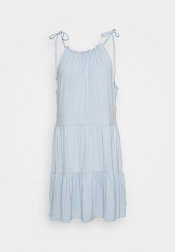Pieces Petite - PCNEORA STRAP DRESS - Day dress - kentucky blue