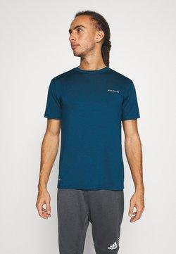 Endurance - MELL MELANGE TEE - T-Shirt basic - poseidon
