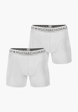 MUCHACHOMALO - 2ER PACK - Shorty - white
