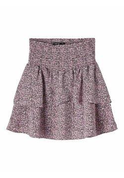 LMTD - Pliceret nederdel /Nederdele med folder - lilac chiffon