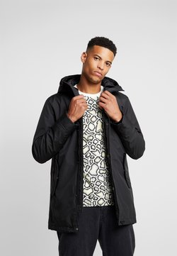 Urban Classics - HOODED LONG JACKET - Parka - black