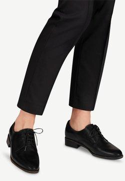 Tamaris - Schnürer - black leather