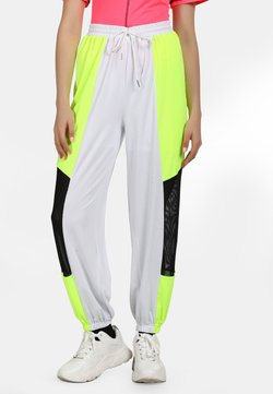 myMo ATHLSR - Jogginghose - neon gelb schwarz