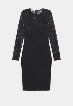 WAL G. - ANALIA LONG SLEEVE MIDI DRESS - Vestito elegante - black