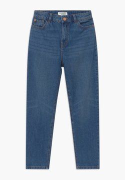 Lindex - MOM MADISON - Relaxed fit jeans - dark denim