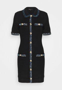 maje - RAVENA - Sukienka dzianinowa - noir