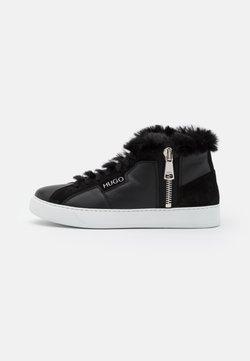 HUGO - Sneakers hoog - black