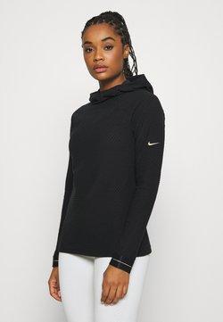 Nike Performance - Huppari - black/metallic gold