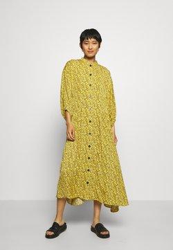 Gestuz - THALLOGZ LONG DRESS  - Blusenkleid - yellow