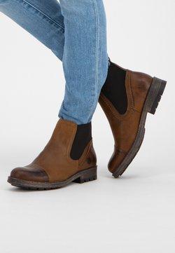 NoGRZ - Ankle Boot - cognac