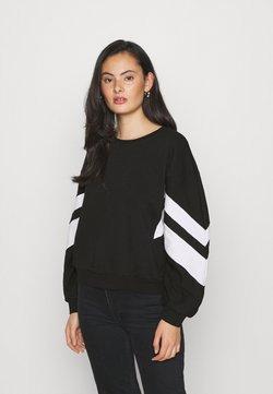 ONLY - ONLJOSSA SPORTY - Sweater - black