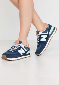 New Balance - WL574 - Sneakers laag - navy