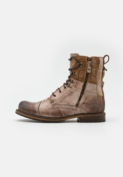 Yellow Cab - SOLDIER WITHOUT WARM LINING - Schnürstiefelette - tan