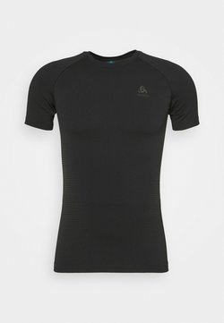 ODLO - PERFORMANCE WARM ECO CREW NECK - Camiseta interior - black/new graphite grey