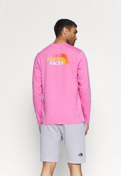 The North Face - EASY TEE - Maglietta a manica lunga - sunset mauve