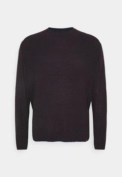 Jack´s Sportswear - O NECK - Pullover - burgundy mix