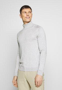 Benetton - ROLL NECK - Pullover - light grey