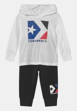 Converse - HOODED STAR CHEVRON SET UNISEX - Verryttelypuku - black