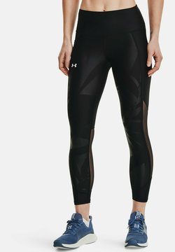 Under Armour - HG AMR EMBOSS - Tights - black