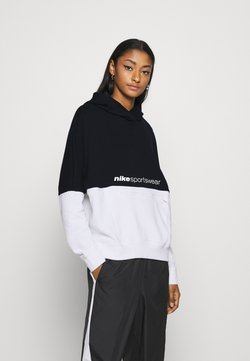 Nike Sportswear - HOODIE ARCHIVE - Kapuzenpullover - black/white