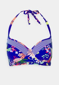 Pour Moi - REEF HALTER LIGHTLY PADDED UNDERWIRED - Bikini-Top - multi
