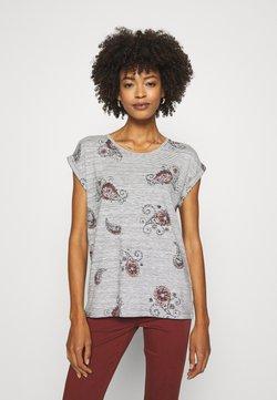 Soyaconcept - SC-GALINA 2 - T-Shirt print - dark earth combi