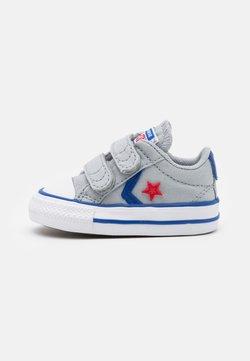 Converse - STAR PLAYER UNISEX - Matalavartiset tennarit - wolf grey/blue/enamel red