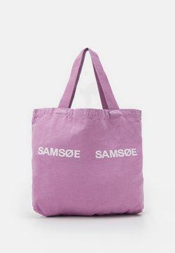 Samsøe Samsøe - FRINKA - Shoppingväska - purple jasper