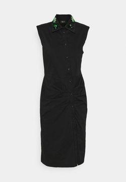 LIU JO - ABITO RICAMO - Vestido camisero - nero