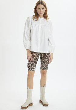 Saint Tropez - Shorts - black raw leo