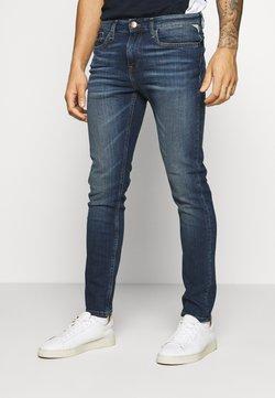 Redefined Rebel - MILANO DESTROY - Jeans slim fit - blue denim