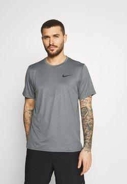 Nike Performance - DRY  - T-Shirt basic - black/smoke grey/heather/black