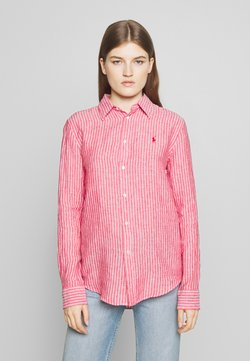 Polo Ralph Lauren - RELAXED LONG SLEEVE - Camicia - red/white