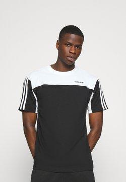 adidas Originals - CLASSICS TEE - T-shirt imprimé - black/white