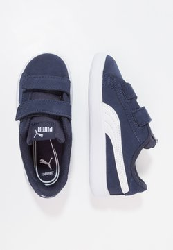 Puma - SMASH V2 SD V INF - Sneakers laag - peacoat/puma white