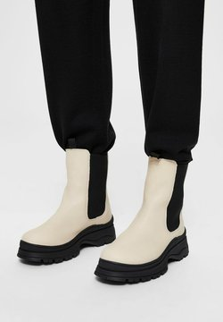 Selected Femme - SLFLUCY - Plateaustiefelette - sand