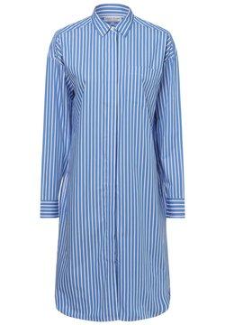 Marie Lund - Blusenkleid - blau weiß