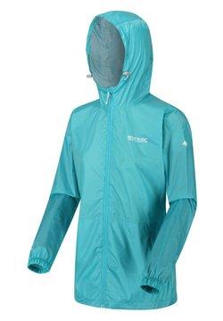 Regatta - PACK IT - Regenjacke / wasserabweisende Jacke - turquoise