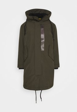 G-Star - HOODED PADDED FISHTAIL  - Parka - asfalt