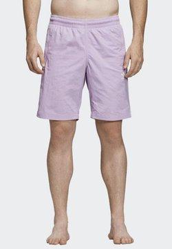 adidas Originals - 3-STRIPES SWIM SHORTS - Badeshorts - purple