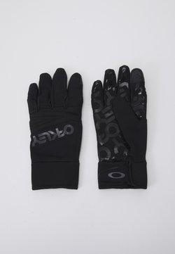 Oakley - FACTORY PARK GLOVE  - Fingerhandschuh - blackout
