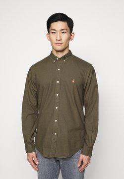 Polo Ralph Lauren - LONG SLEEVE SPORT - Camisa - defender green