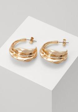Weekday - TRINE HOOPS - Earrings - gold-coloured