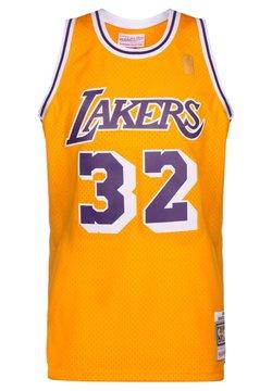 Mitchell & Ness - NBA LA LAKERS SWINGMAN 2.0 MAGIC JOHNSON BASKETBALLTRIKOT HERREN - Pelipaita - yellow