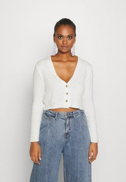 Missguided - Gilet - offwhite