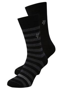 Marc O'Polo - 2 PACK SWEN - Socken - black