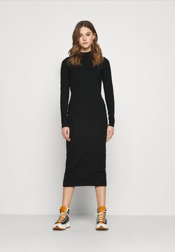 Weekday - BEGONIA CUTOUT BACK DRESS - Vestido ligero - black